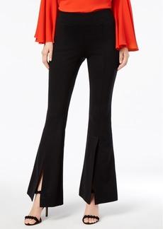 INC International Concepts I.n.c. Petite Split-Leg Flare Pants, Created for Macy's