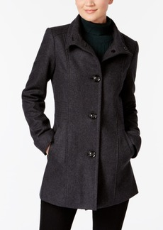 Inc International Concepts Stand-Collar Peacoat, Created for Macy's