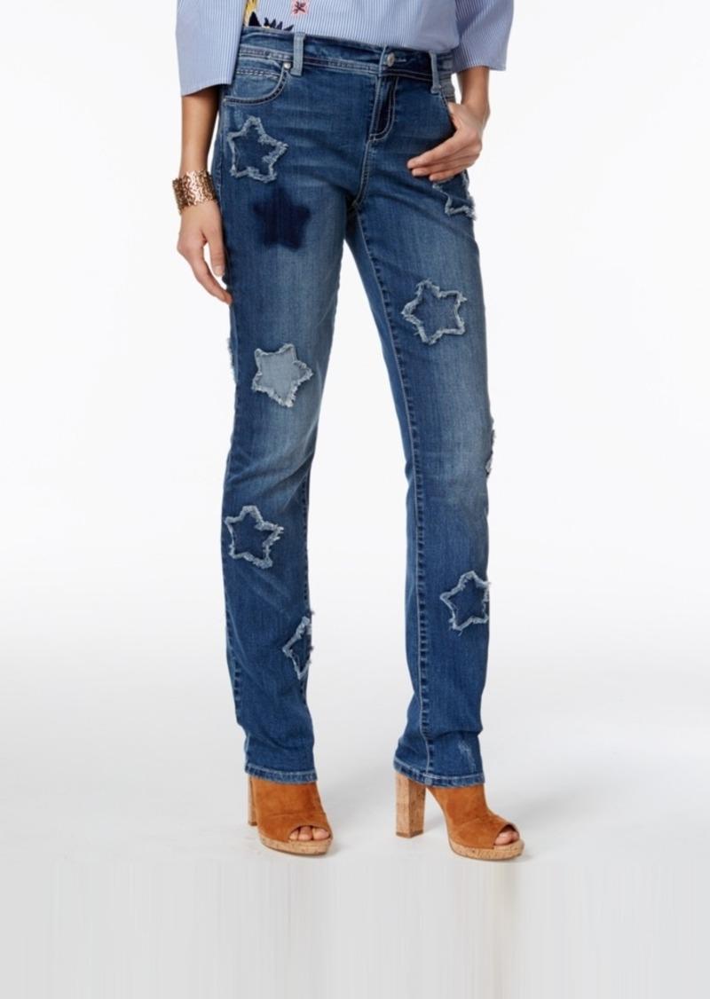 neue Produkte für neueste trends auf Lager Star Patch Boyfriend Jeans, Only at Macy's
