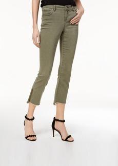 I.n.c. Step-Hem Skinny Jeans, Created for Macy's