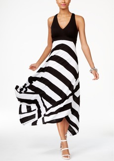 Inc International Concepts Striped Maxi Dress, Created for Macy's