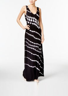 Inc International Concepts Tie-Dyed Maxi Dress, Created for Macy's