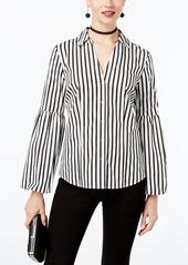 INC International Concepts I.n.c. Tiered-Sleeve Shirt, Created for Macy's