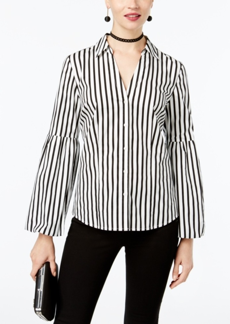 Macys Black And White Blouse Anlis