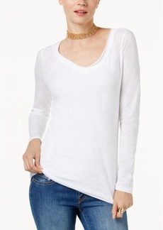 Inc International Concepts V-Neck Top, Created for Macy's