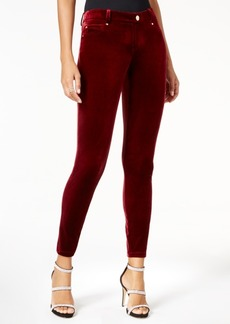 INC International Concepts I.n.c. Curvy Velvet Skinny Pants, Created for Macy's