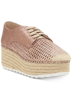 INC International Concepts I.n.c. Women's Abrelia Espadrille Platform Sneakers, Created for Macy's Women's Shoes