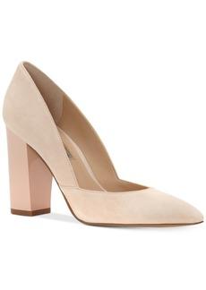 Inc International Concepts Women's Eloraa Block-Heel Pumps, Only at Macy's Women's Shoes