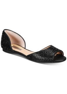 INC International Concepts I.n.c. Women's Elsah Embellished d'Orsay Flats, Created for Macy's Women's Shoes