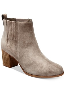 Inc International Concepts Fainn Block-Heel Booties, Created for Macy's Women's Shoes