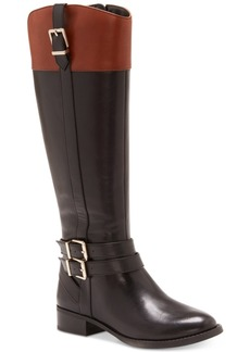 Inc International Concepts Frankii Wide-Calf Riding Boots, Created for Macy's Women's Shoes