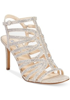 INC International Concepts I.n.c. Women's Gawdie Caged Sandals, Created for Macy's Women's Shoes