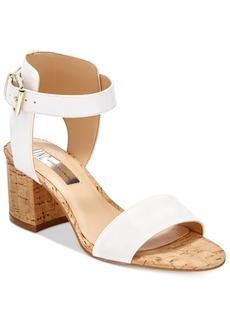 Inc International Concepts Women's Hallena Block-Heel Dress Sandals, Only at Macy's Women's Shoes