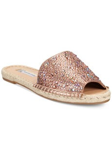 Inc International Concepts Women's Ilata Embellished Espadrille Flat Sandals, Only at Macy's Women's Shoes