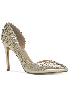I.n.c. Women's Karlay Floral Embellished Evening Pumps, Created for Macy's Women's Shoes