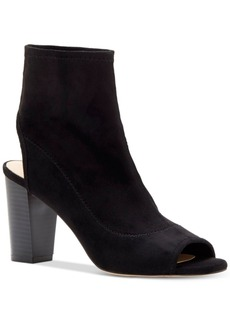 Inc International Concepts Women's Kayden Peep-Toe Booties, Created for Macy's Women's Shoes