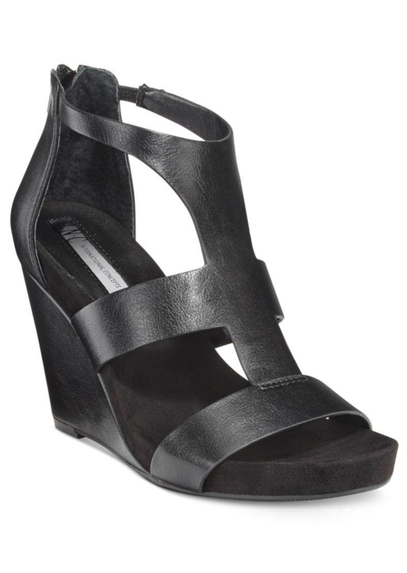 Inc International Concepts Women's Lilbeth Wedge Sandals, Only at Macy's Women's Shoes