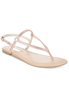 Inc International Concepts Women's Macawi Embellished Flat Sandals, Only at Macy's Women's Shoes
