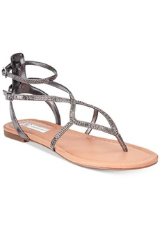 Inc International Concepts Women's Maconn Flat Sandals, Created for Macy's Women's Shoes