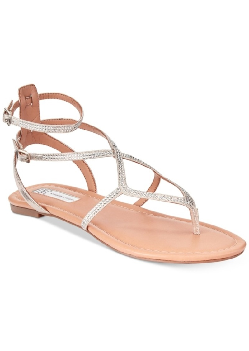 884749211 INC International Concepts I.n.c. Women s Maconn Flat Sandals ...