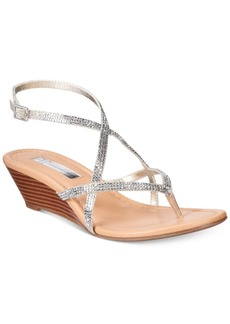 Inc International Concepts Women's Mayca2 Strappy Wedge Sandals, Only At Macy's Women's Shoes