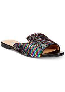 I.n.c. Women's Mayla Slip-On Flat Sandals, Created for Macy's Women's Shoes