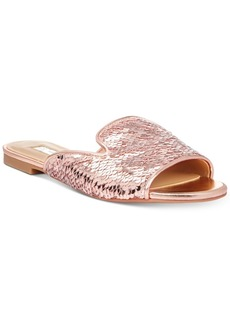 INC International Concepts I.n.c. Women's Mayla Slip-On Flat Sandals, Created for Macy's Women's Shoes