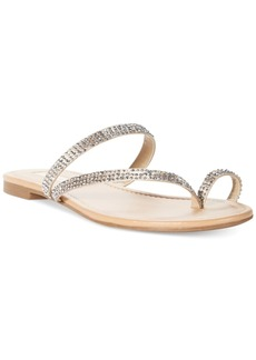 I.n.c. Women's Mistye Thong Flat Sandals, Created for Macy's Women's Shoes