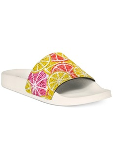 Inc International Concepts Women's Peymin Flat Slide Sandals, Only at Macy's Women's Shoes
