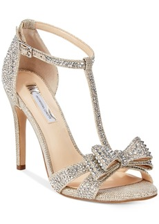 I.n.c. Women's Reesie Rhinestone Bow Evening Sandals, Created for Macy's Women's Shoes