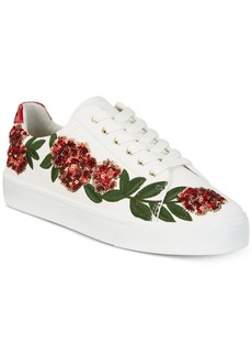 I.n.c. Women's Sanice Embroidered Sneakers, Created for Macy's Women's Shoes