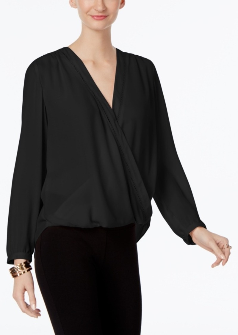 Inc International Concepts Wrap Blouse, Only at Macy's