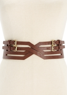 Inc International Concepts X-Front Buckle Stretch Belt, Only at Macy's