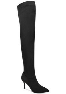 Inc International Concepts Zaliaa Pointed Toe Over-the-Knee Boots, Created for Macy's Women's Shoes
