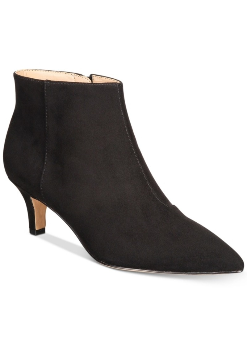 e61d4bec694 Inc International Concepts Zennora Ankle Booties, Created for Macy's  Women's Shoes