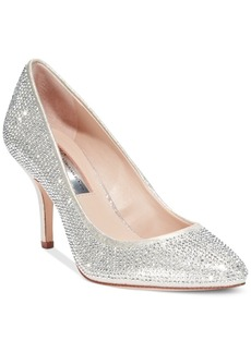 Inc International Concepts Zitah Pointed Toe Rhinestone Evening Pumps, Only at Macy's Women's Shoes