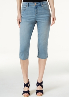 Inc International Embroidered Cropped Jeans, Only at Macy's