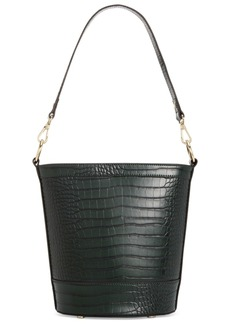 INC International Concepts Inc Kaiah Croco Bucket Bag, Created for Macy's