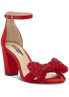 INC International Concepts I.n.c. Kivah Bow Two-Piece Sandals, Created for Macy's Women's Shoes