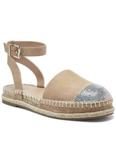 INC International Concepts Inc Kylan Ankle-Strap Flat Espadrilles, Created for Macy's Women's Shoes