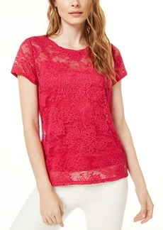 INC International Concepts I.n.c. Lace Top, Created for Macy's