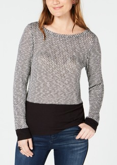 INC International Concepts I.n.c. Layered-Look Knit Top, Created for Macy's