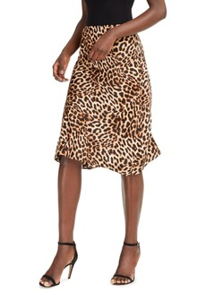 INC International Concepts Inc Leopard Midi Skirt, Created for Macy's