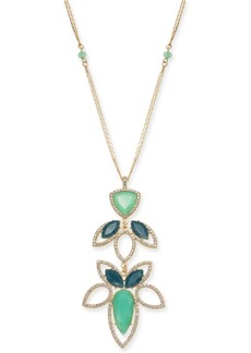 """INC International Concepts I.n.c. Long Pendant Necklace, 28"""" + 3"""" extender, Created for Macy's"""