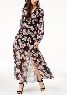 I.n.c. Petite Floral-Print Elastic-Waist Dress, Created for Macy's