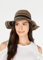 INC International Concepts Inc Lurex Tweed Panama Hat, Created for Macy's