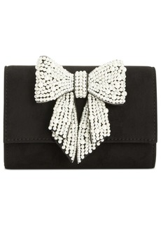 INC International Concepts Inc Maraa Pearl Bow Clutch, Created for Macy's