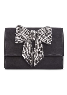 INC International Concepts Inc Maraa Rhinestone Bow Clutch, Created for Macy's