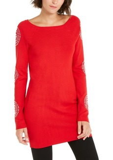 INC International Concepts Inc Medallion-Sleeve Tunic, Created For Macy's