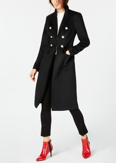 INC International Concepts I.n.c. Military Maxi Coat, Created for Macy's